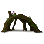 Fantasy Forest Tree Trunk 2