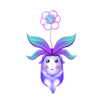 Animated Violet Flowerbean