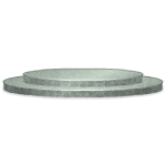 Gray Marble Spiral Stairs Base