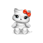 Halloween Mummy Kitty