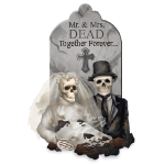 Mr and Mrs Dead Tombstone