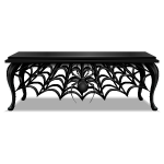 Gothic Dining Table with Spider