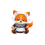 Thankful Pilgrim Fox