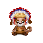 Thankful Indian Puppy