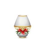 Christmas Decorated Table Lamp