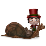 Fantasia Snail and Rider