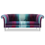 Waterfall of Colors Designer Sofa