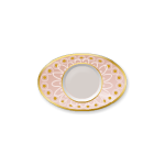 Pink Oval Plate