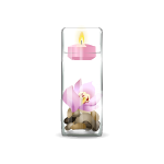 Floating Candle with Floral Scent 2