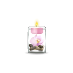 Floating Candle with Floral Scent 1