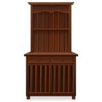 Habi - Wood Cupboard