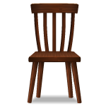 Habi - Rustic Wooden Chair