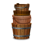 Habi - Stack of Buckets