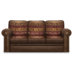 Habi - Brown Leather Sofa