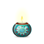 Indian Ball Candle