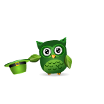 Hat Tipping Lucky Owl