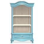 Blue Cupboard with Shelves