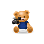 Camera Man Handy Bear