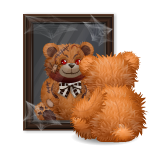 Animated Bear with Mirror
