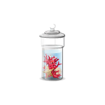 Habi - Glass Jar with Corals