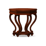 Habi - Mahogany Side Table