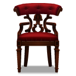 Habi - Crimson Library Chair