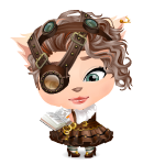 Habi - Steampunk Lady Scientist Mini Buddy