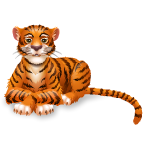 Animated Jungle Tiger