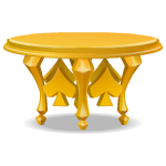 Gold Spades Table