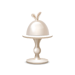 Habi - Rabbit Ears Cake Stand 2