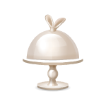 Habi - Rabbit Ears Cake Stand 1