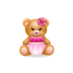 Beach Girl Handy Bear