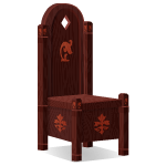 Habi - Angled Castle Wooden Chair