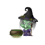 Potion Making Witch Minibuddy