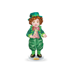 Irish Boy Figurine Keepsake