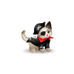 Banner Kitty Boo Pirate Plushie