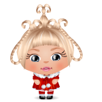 Cindy Lou Who Mini Buddy