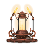 Steampunk Lava Lamp