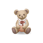 Antique Boy Teddy Bear