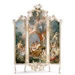 Hand Painted Rococo Screen Diamond Prize
