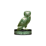 Celtic Owl Figurine