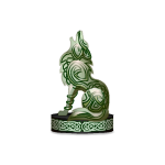 Celtic Wolf Figurine