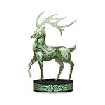 Celtic Deer Figurine