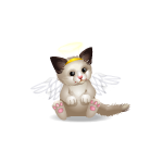 Banner Kitty Boo Angel Plushie