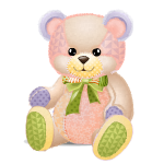 Supersize Patchwork Teddy Bear