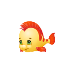 Cute Yellow and Orange Fish
