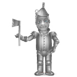 Oz Friend Tin Man