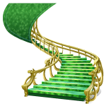 Emerald Staircase