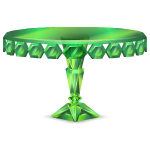 Round Emerald Table