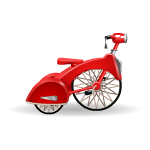 Red Tricycle Toy